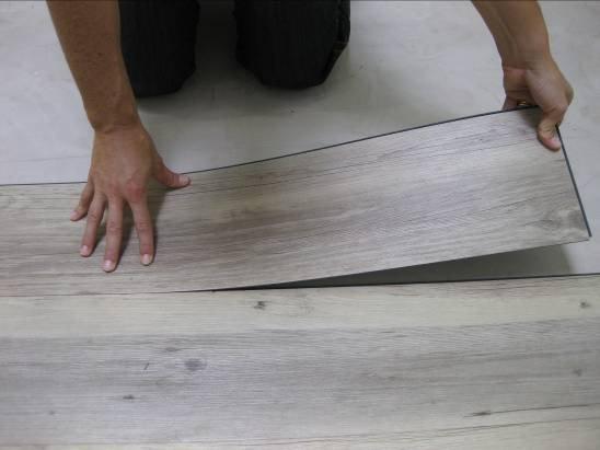 Mq 5 pavimento adesivo parquet doghe pvc autoadesivo cm 15 24x91 44 spess mm 2 ebay - Piastrelle pvc ad incastro ...