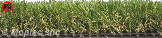 Eden 40 erba sintetica ad imitazione realistica di un for Prato sintetico listino