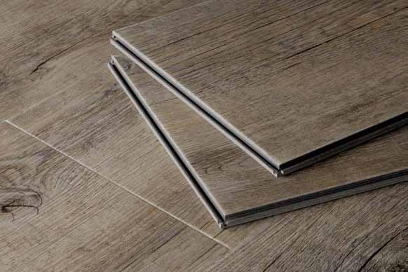 Pavimento in vinile pvc modulare ad incastro verticale for Mattonelle in vinile